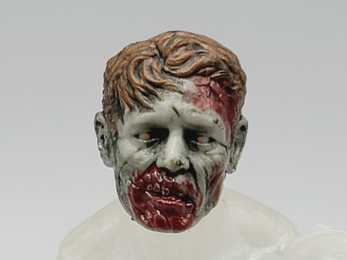 Officer Zed Hungry Zombie Head