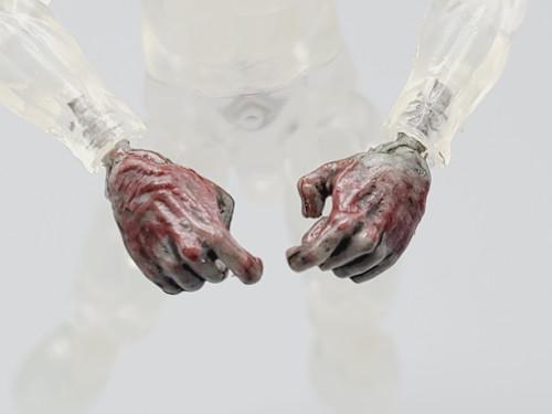 Officer Zed Zombie Vertical Hands
