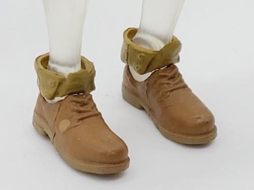 Brittanee Bytes Short Brown Boots
