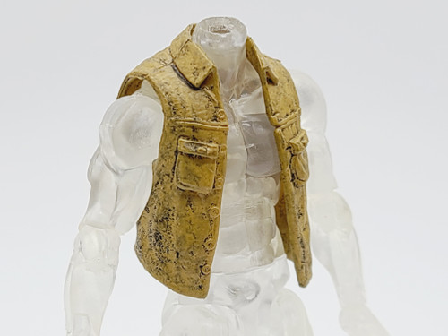 Jean Brothers Tan Vest (dirty)