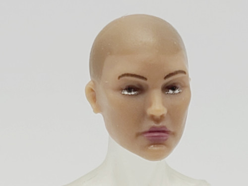 Antonia Avilles Bald Head