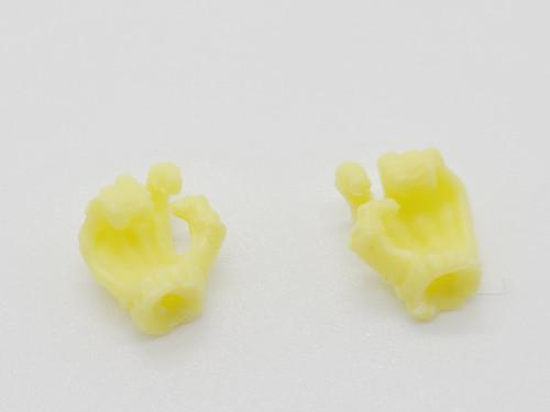 Yellow Skeleton Hands