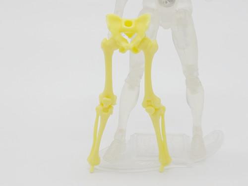 Yellow Skeleton Legs