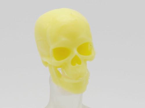 Yellow Skeleton Skull