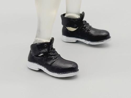 Magenta Ladies  Black & White Short Boots