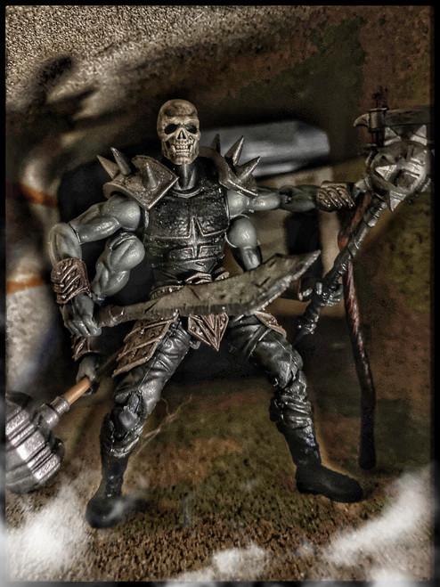Death Metal Orc - a Vitruvian Armory Custom