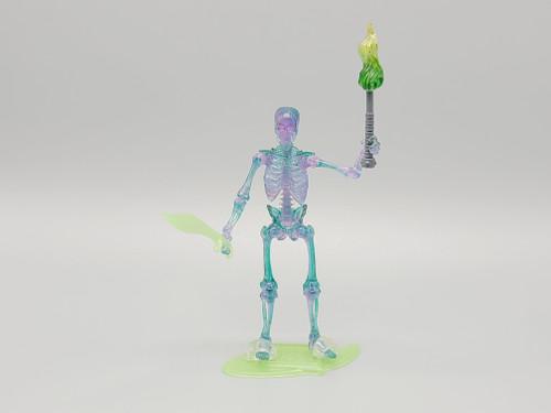 Spooky Skeleton (glow) - a Vitruvian Armory Custom