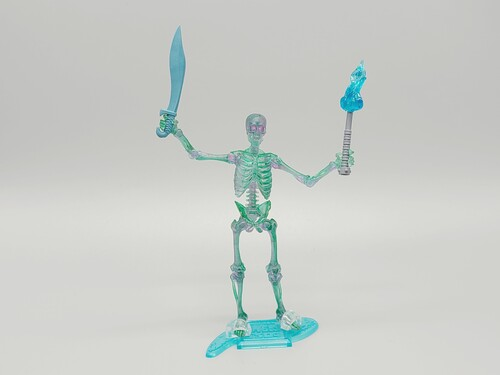 Spooky Skeleton (blue) - a Vitruvian Armory Custom