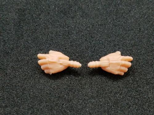 Pale Peach Male Horizontal hands