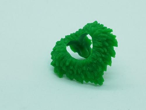 Green Vampire Neck Fur
