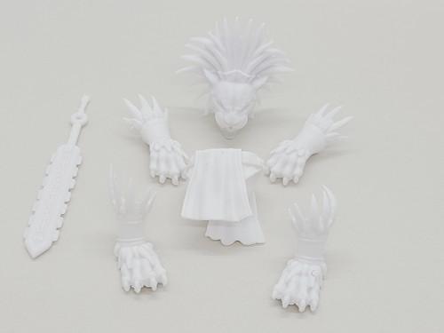 Tezcatlipoca (Aztec) Mini Kit Set (White)