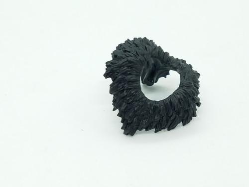 Black Vampire Neck Fur