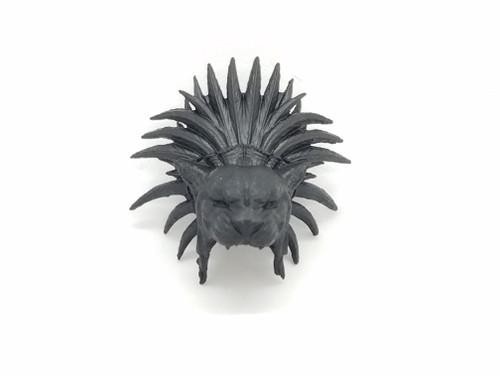 Tezcatlipoca (Aztec) headdress (Black)