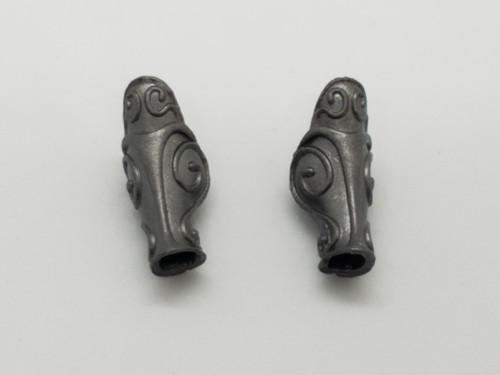Aged Steel Myrmidon Leg Armor