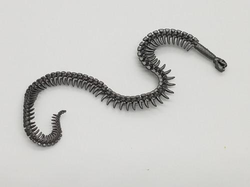 Aged Steel Snake Whip