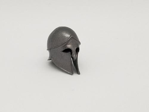 Aged Steel Smooth Helmet