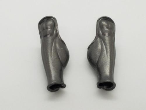 Aged Steel Spartan Leg Armor