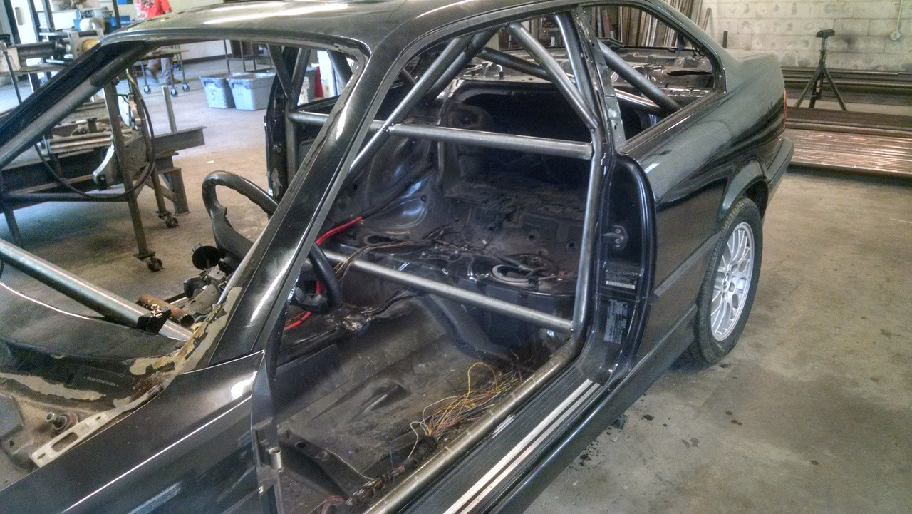 Roll Cage shown with optional Add-Ons
