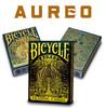 Bicycle Aureo - pachet de carti cu foita de aur