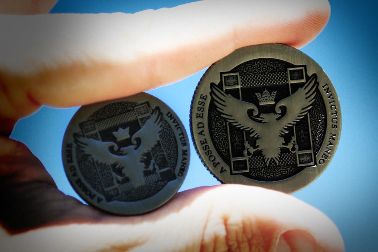 Silver Artifact Coin - Half Dollar