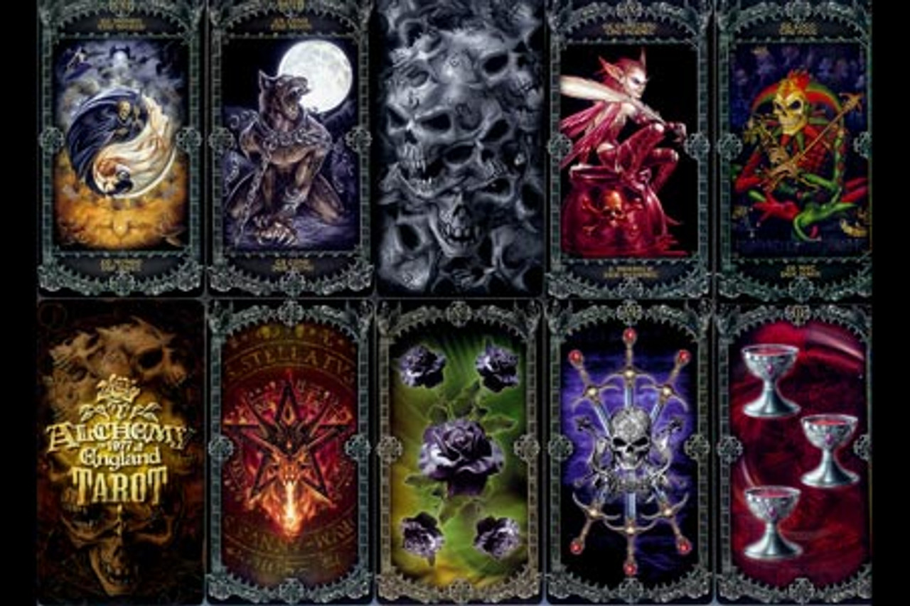 Carti Tarot Alchemy