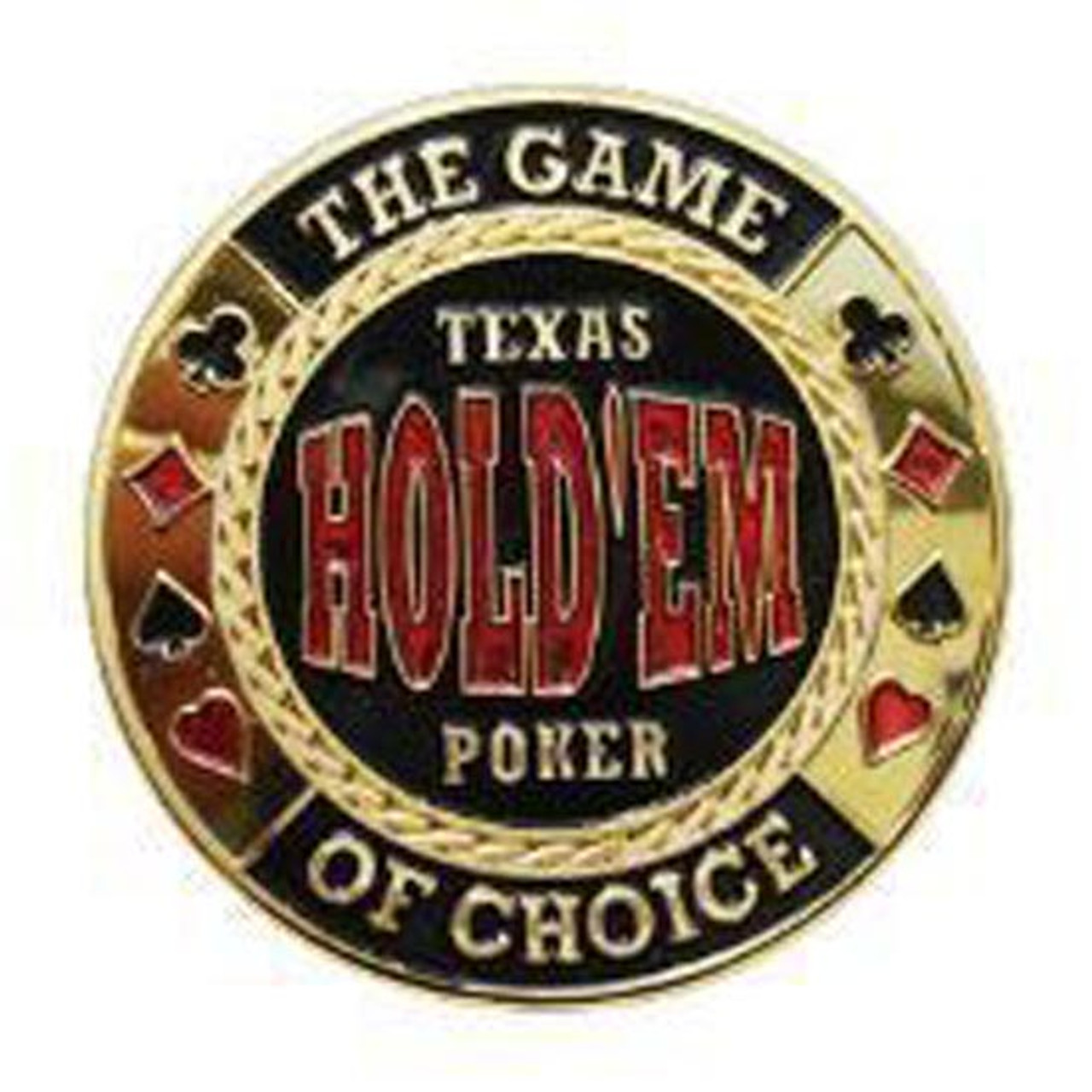 Poker Card Guard - TEXAS HOLD'EM POKER - THE GAME OF CHOICE