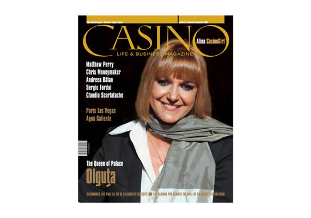 CASINO LIFE & BUSINESS MAGAZINE Numarul 9. Noiembrie-Decembrie 2008
