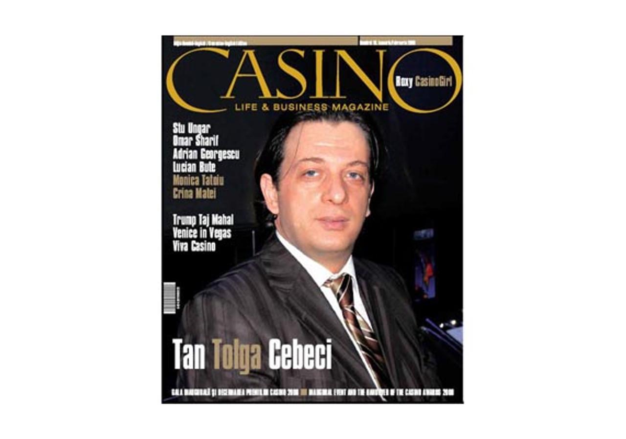 CASINO LIFE & BUSINESS MAGAZINE Numarul 10. Ianuarie-Februarie 2009