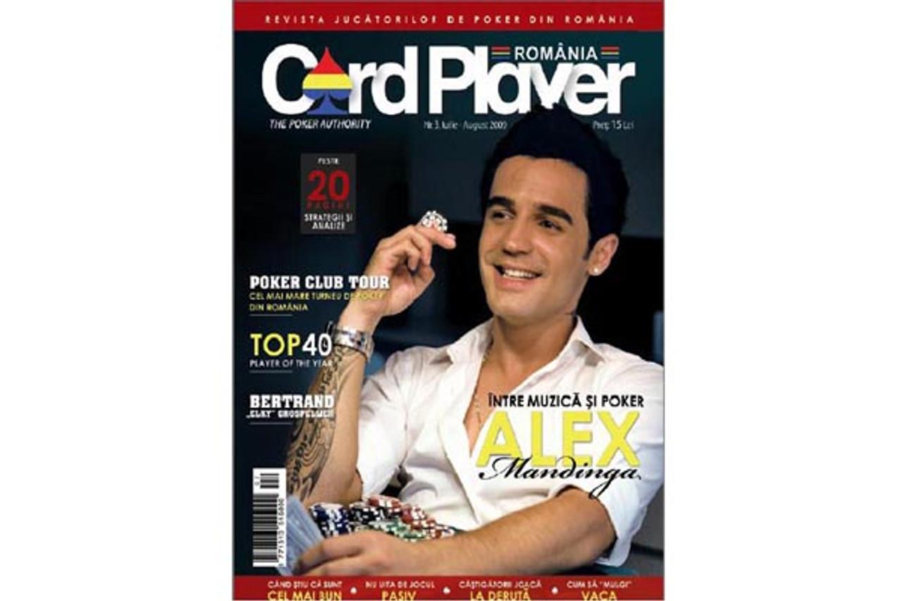 Revista Card Player Romania nr.3 Card Player Magazine Iulie-August 2009