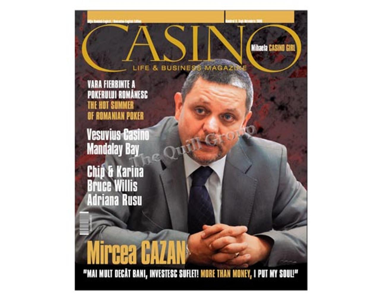 CASINO LIFE & BUSINESS MAGAZINE Numarul 8. Sept-Octombrie 2008