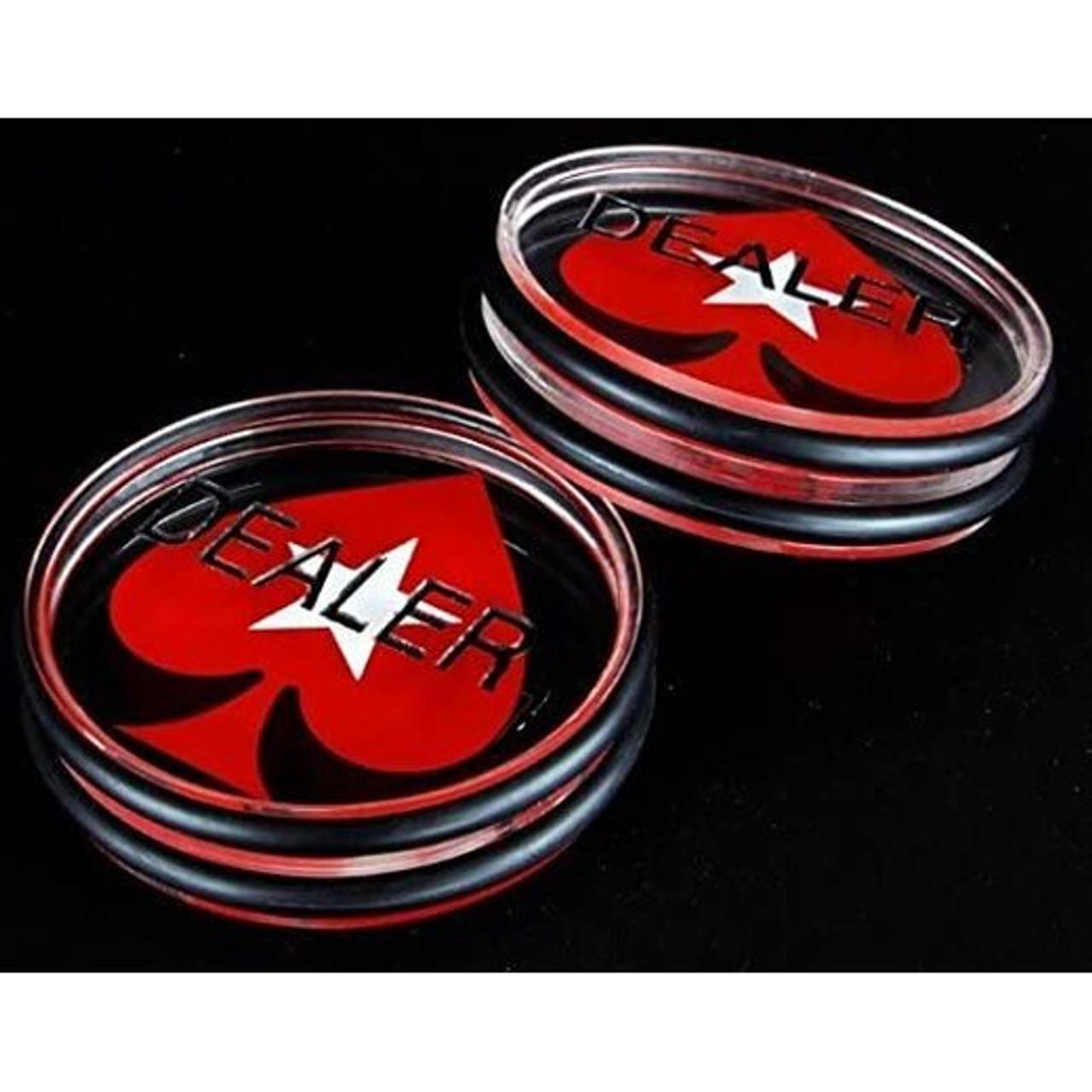 Pokerstars buton dealer acryl