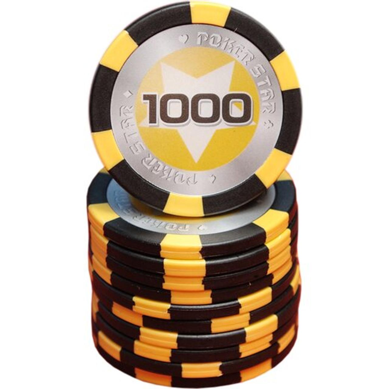 Set 300 jetoane pentru poker model Pokerstar, 13 gr + CADOU un pachet de carti 100% plastic Dal Negro