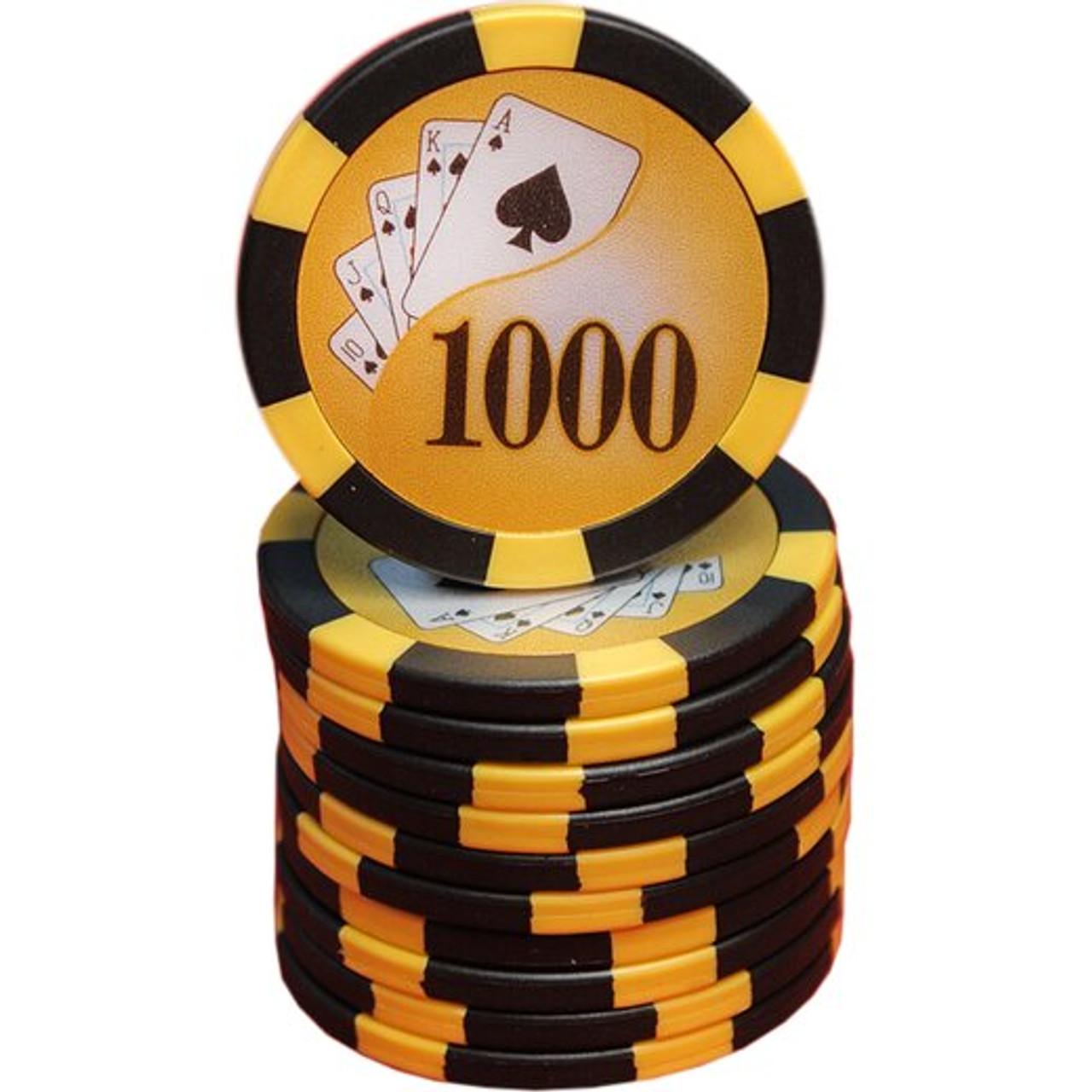 Set 300 jetoane pentru poker model Cardflush, 13 gr+ CADOU un pachet de carti 100% plastic Dal Negro