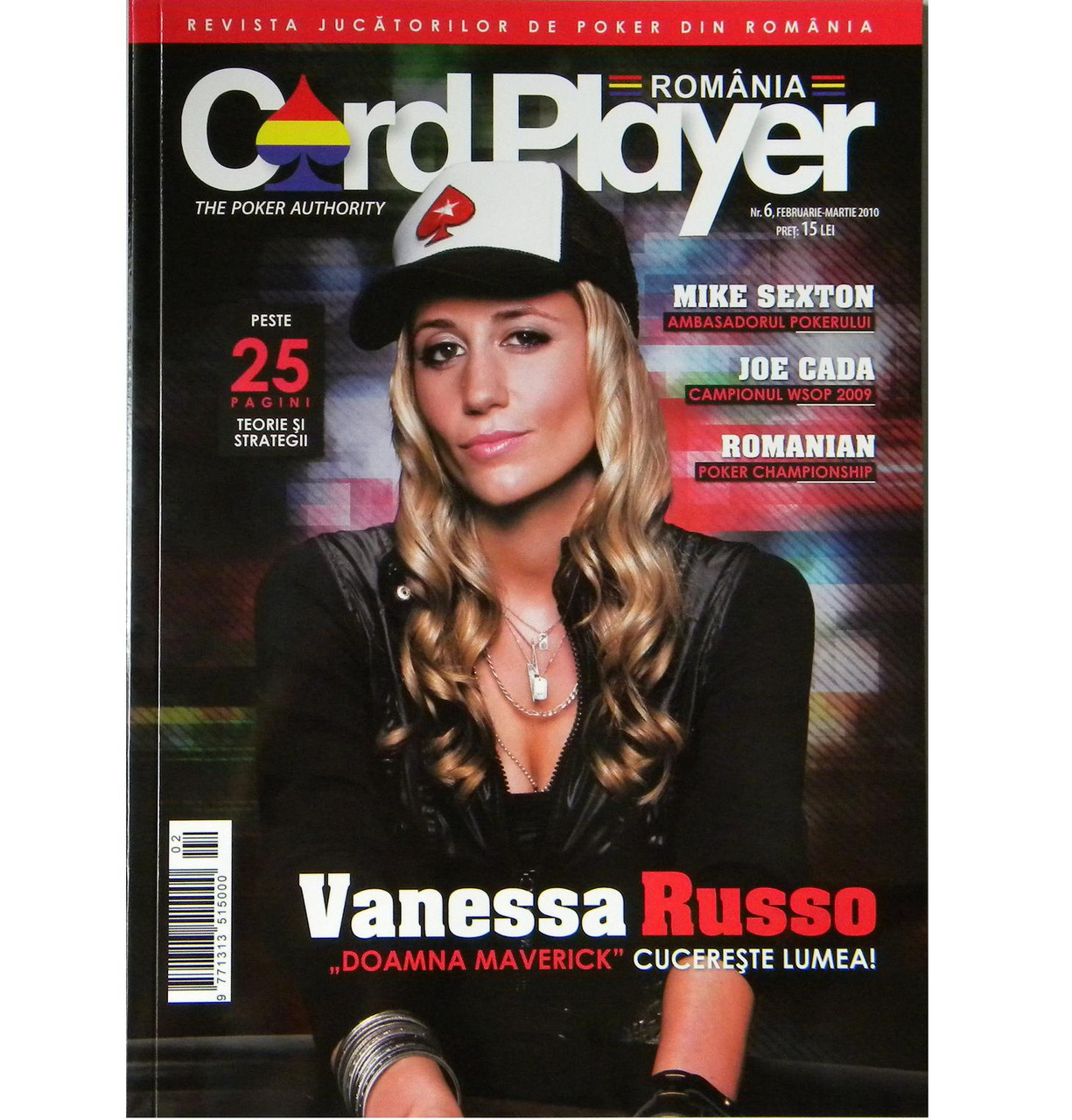 Card Player Magazine Romania nr.6 Revista februarie-martie 2010