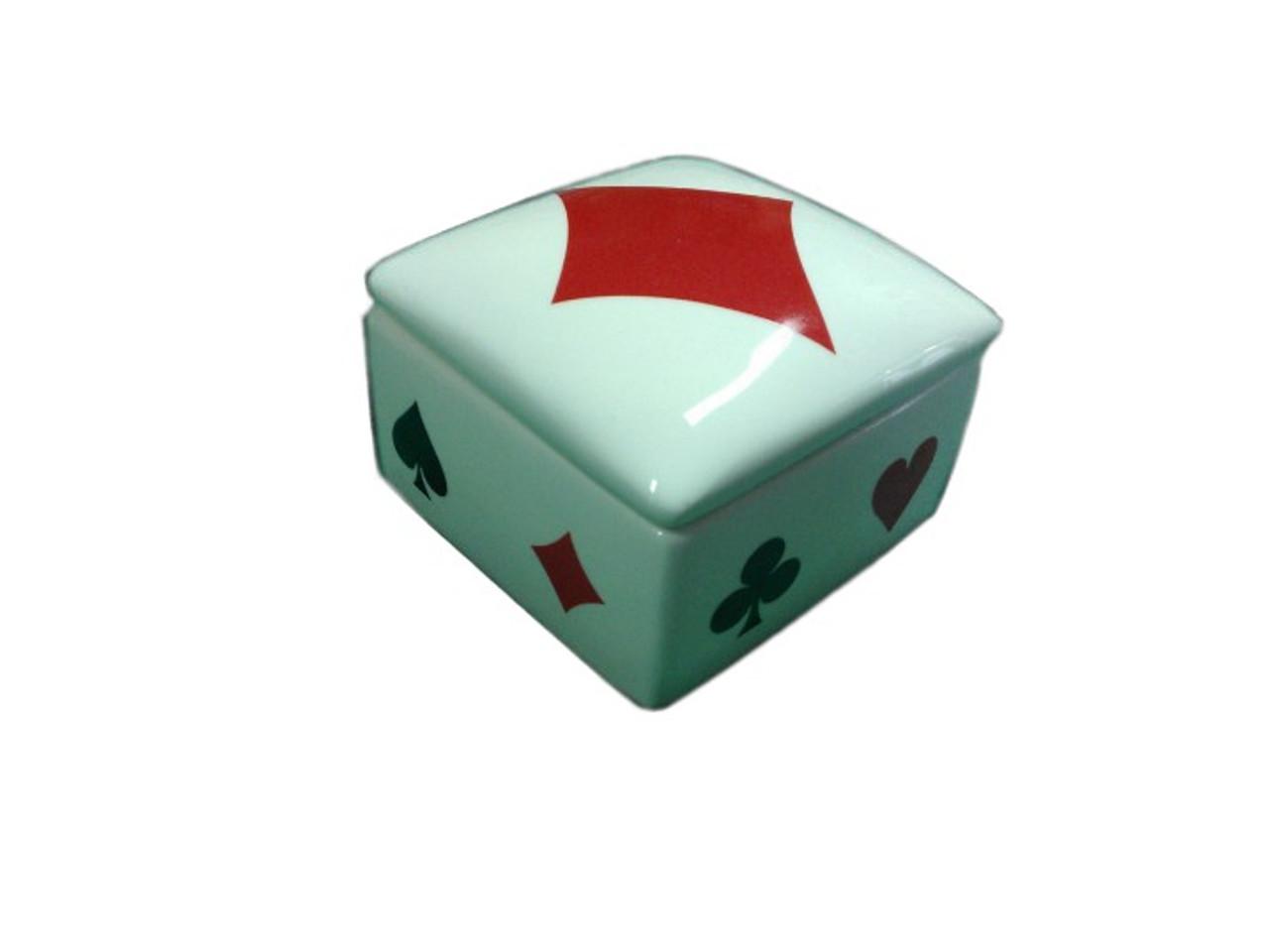 Cutie ceramica pentru bijuterii