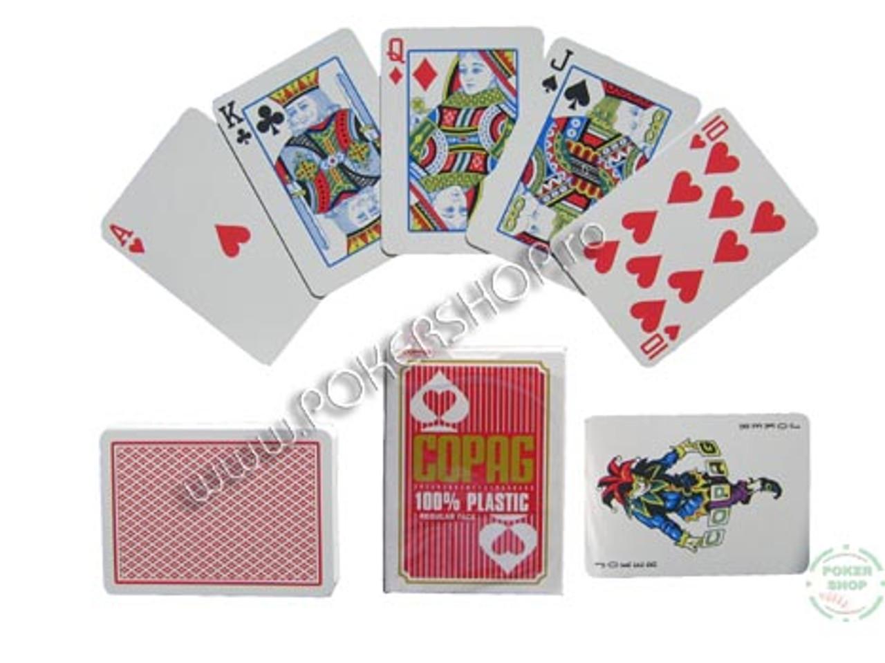 Carti de Poker profesionale COPAG  si spate rosu