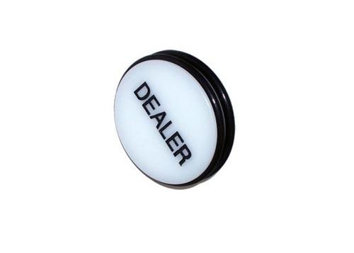 Buton de dealer JUMBO - 7,5 cm diametru si 3 cm grosime