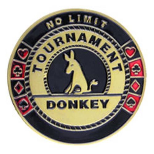Poker Card Guard - No Limit Tournament Donkey