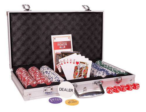 Set poker 300 jetoane Cartamundi neinscriptionate