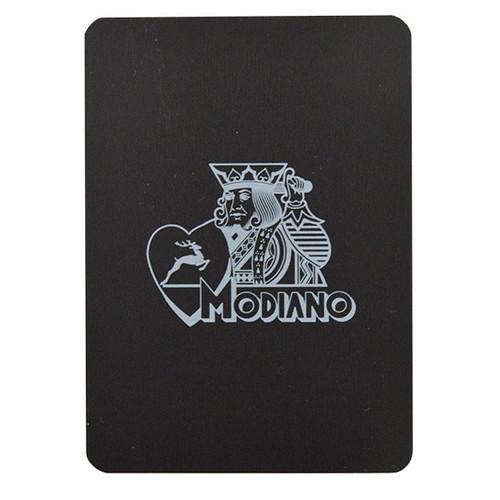 Cutting Card 100% plastic cu sigla Modiano pe ambele parti