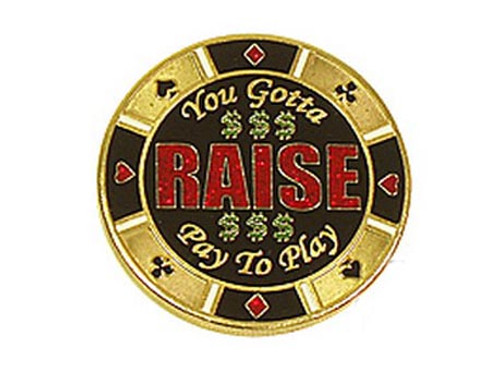 Poker Card Guard - RAISE - You Gotta Pay To Play