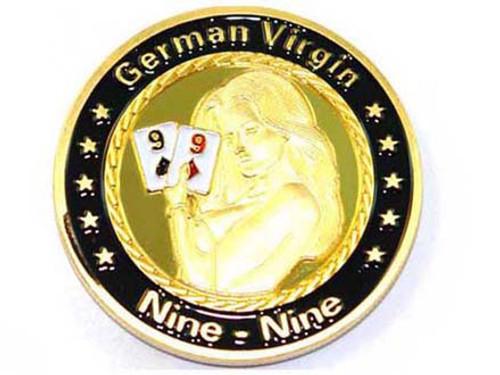 Poker Card Guard - GERMAN 99 Nine Nine