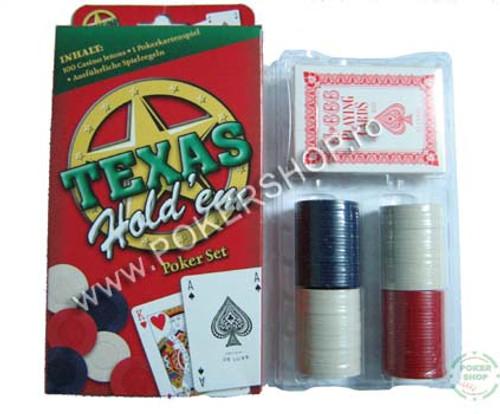 100 Texas Holdem Poker Set
