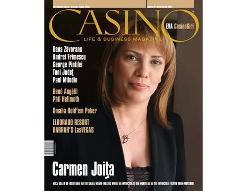 Revista CASINO LIFE & BUSINESS MAGAZINE Numarul 11. Martie-Aprilie 2009