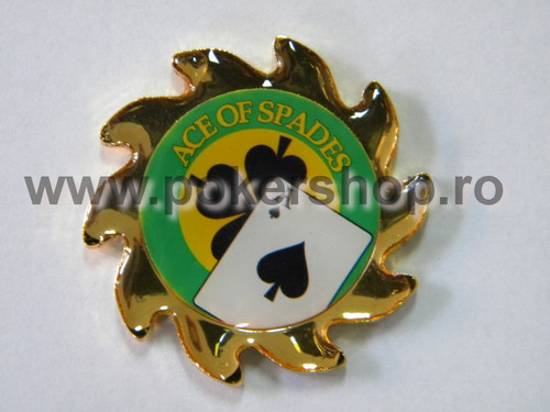 Poker Card Guard - Spinner - Ace of Spades