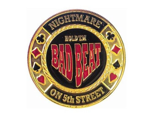 Poker Card Guard - BAD BEAT - Cosmar la ultima carte