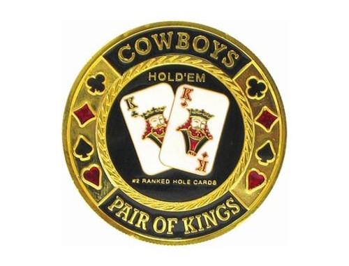 Poker Card Guard - COWBOYS - KINGS KK
