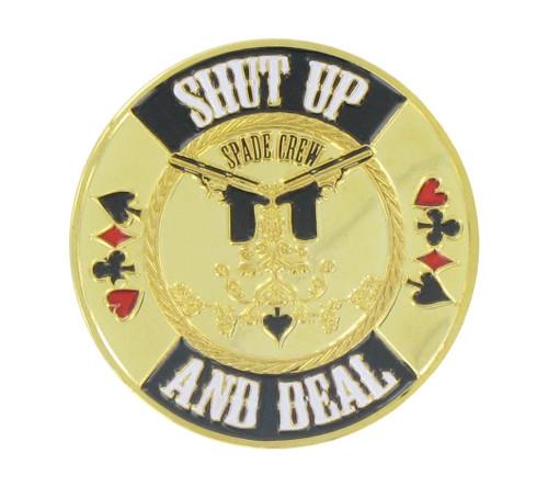 Poker Card Guard - Shut Up And Deal