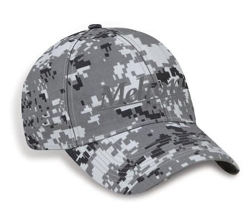 Structured Grey Digital Camo Cap