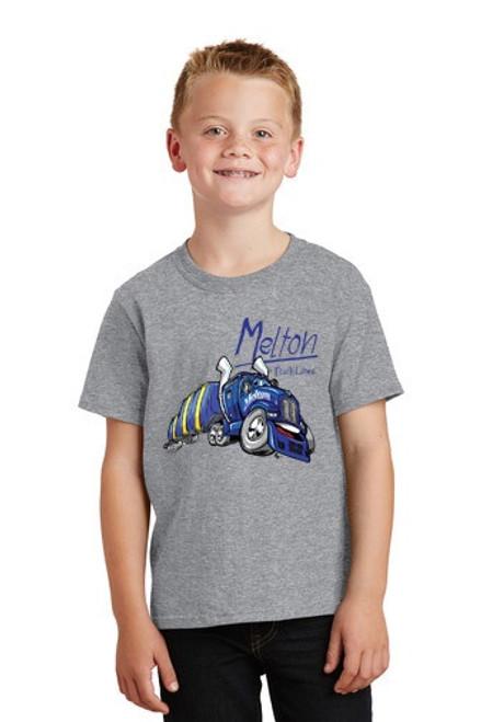 Melton Cartoon Youth T-Shirts - 3 Colors Options